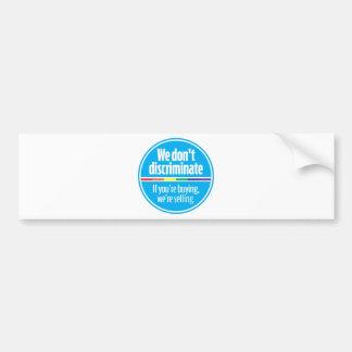 wesell_blue bumper sticker