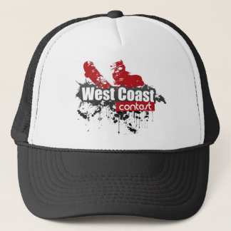 west coast contest 2011 course trucker hat