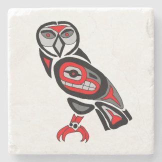 West coast Owl Stone Coaster