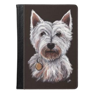 West Highland Terrier Dog Pastel Pet Illustration