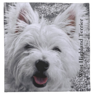 West Highland Terrier Napkin
