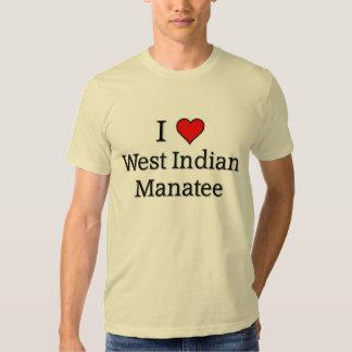 West Indian Manatee Tshirt