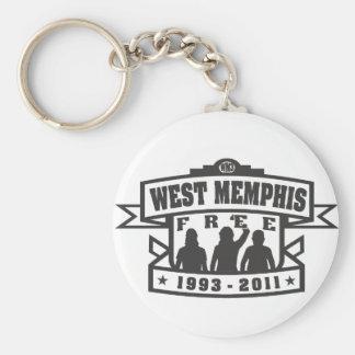 West Memphis Three Key Ring