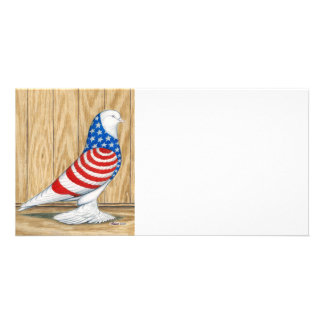 West of England Patriot Tumbler Custom Photo Card