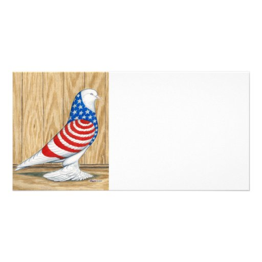 West of England Patriot Tumbler Photo Card Template