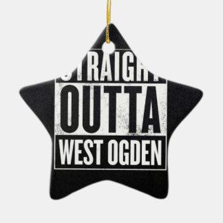 West side wear christmas ornament