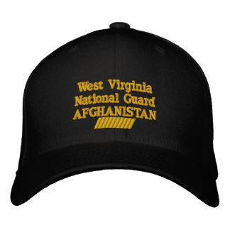 West Virginia 60 MONTH TOUR Embroidered Hats