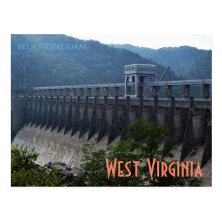 West Virginia (Dam) Postcard