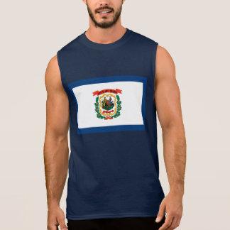 West Virginia Flag Sleeveless Shirt
