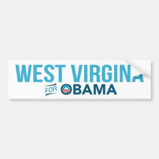 West Virginia For Barack Obama Biden Bumper Bumper Sticker