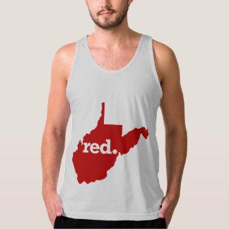 WEST VIRGINIA RED STATE SINGLET