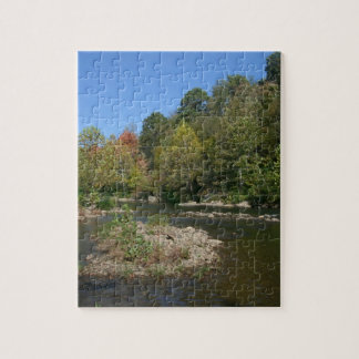 West Virginia River Jigsaw Puzzle