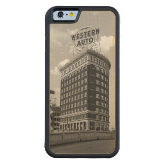 Western Auto Half Cylinder Tower iPhone 6 Case