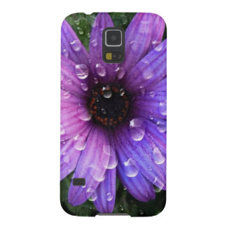 Western Country garden morning Dew purple daisy Galaxy S5 Cover