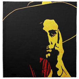 Western Cowboy Midnight Vintage Style West Napkins