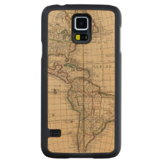 Western Hemisphere 12 Maple Galaxy S5 Case