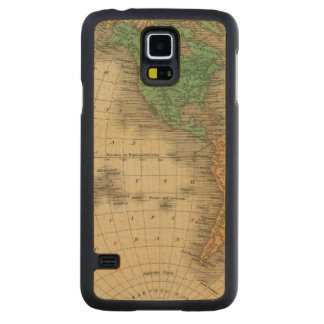 Western Hemisphere 16 Carved Maple Galaxy S5 Case