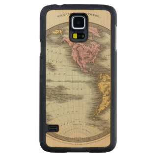 Western Hemisphere 18 Carved Maple Galaxy S5 Case