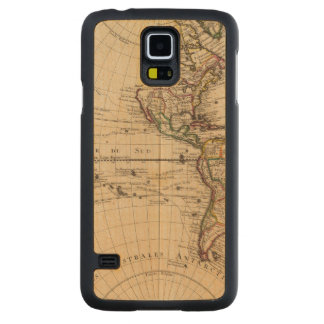 Western Hemisphere 3 Carved Maple Galaxy S5 Case