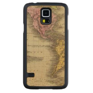 Western Hemisphere 4 Maple Galaxy S5 Slim Case