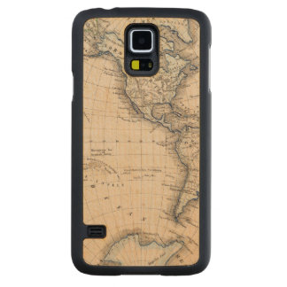 Western Hemisphere 6 Carved Maple Galaxy S5 Case