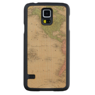 Western Hemisphere 9 Carved Maple Galaxy S5 Case