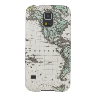 Western Hemisphere Atlas Map Case For Galaxy S5