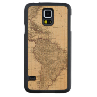 Western Hemisphere, South America Carved Maple Galaxy S5 Case