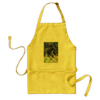 Western Lowland Gorilla apron