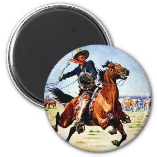 Western Nostalgia Magnet