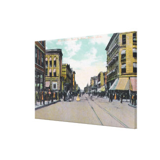 Western View from Main StreetBoise, ID Canvas Print