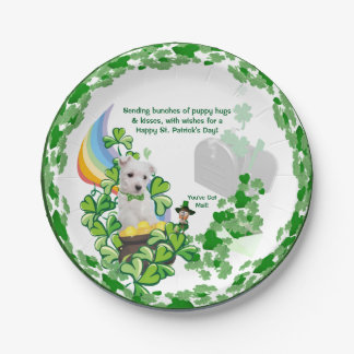 Westie - You've Got Mail – 7 Inch Paper Plates