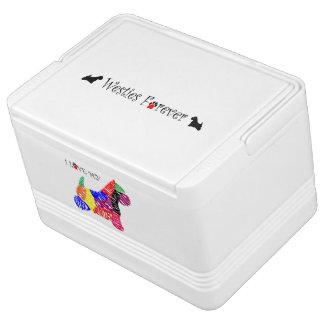 Westies Forever Igloo Cooler Chilly Bin