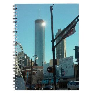 Westin Peachtree Plaza Notebooks
