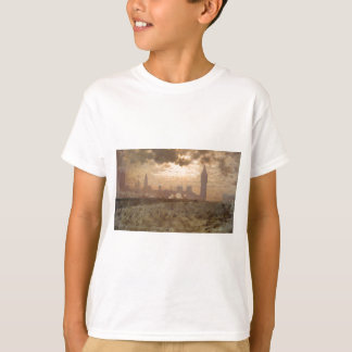 Westminster Bridge by Giuseppe de Nittis T-Shirt
