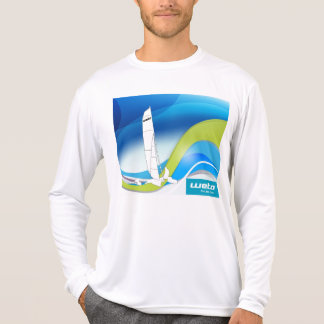 Weta Trimaran design on long-sleeve T-shirt