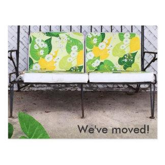 We've Moved! Modern Colorful New Address Postcard