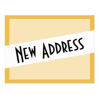 We've Moved New Address Postcard
