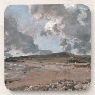 Weymouth Bay with Jordan Hill, c.1816 (oil on canv Coaster