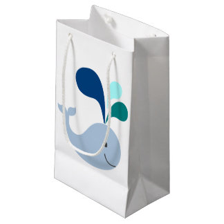 Whale Small Gift Bag