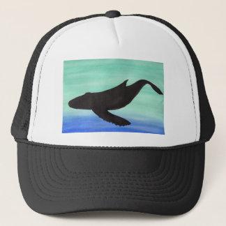 Whale Trucker Hat