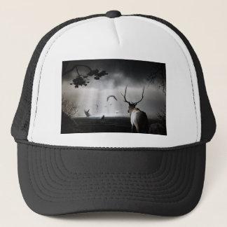 Whale Watch Trucker Hat