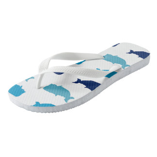 Whales Jandals