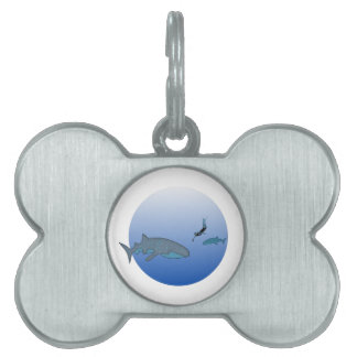 Whalesharks Pet Tag