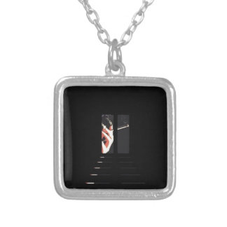 What A Drag Woman's Hand Art Custom Necklace