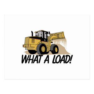 What A Load Postcard