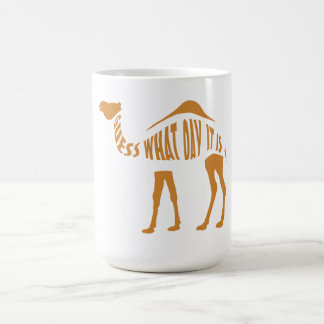 What day it is? coffee mug