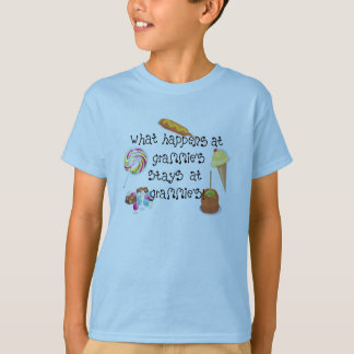 What Happens at Grammie's STAYS at Grammie's T-Shirt