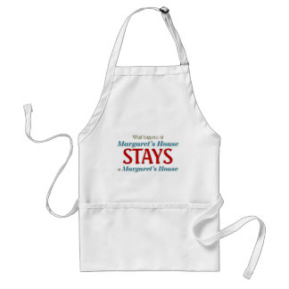 What happens at margaret's house standard apron