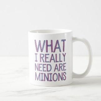 What I Really Need Are Minions Mug